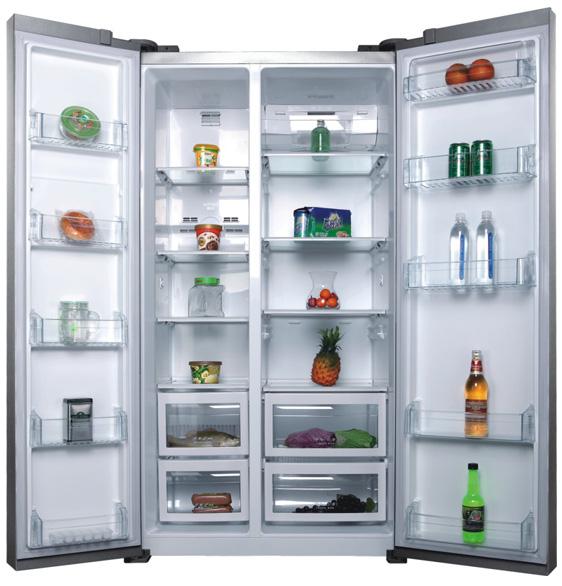 金帅对开门冰箱